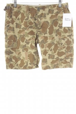 Carhartt Shorts Camouflagemuster Casual-Look