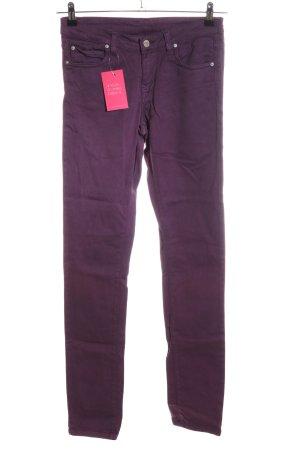 Carhartt Slim Jeans lila Casual-Look