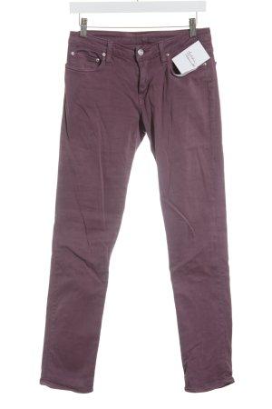 Carhartt Slim Jeans purpur Street-Fashion-Look