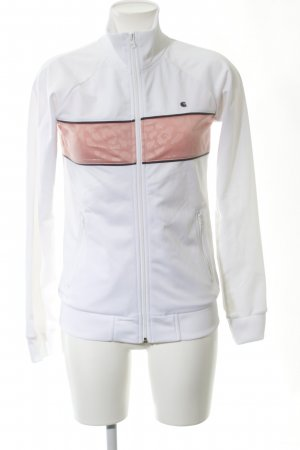 Carhartt Sports Jacket white-nude striped pattern casual look
