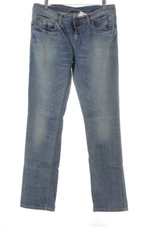 Carhartt Straight-Leg Jeans blau Casual-Look