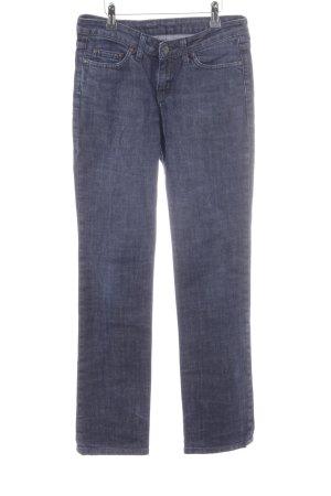 Carhartt Straight-Leg Jeans dunkelblau-graublau Casual-Look