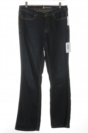 Carhartt Straight-Leg Jeans dunkelblau schlichter Stil