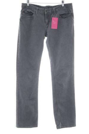 Carhartt Straight-Leg Jeans grau Casual-Look