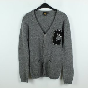 Carhartt Knitted Cardigan grey wool