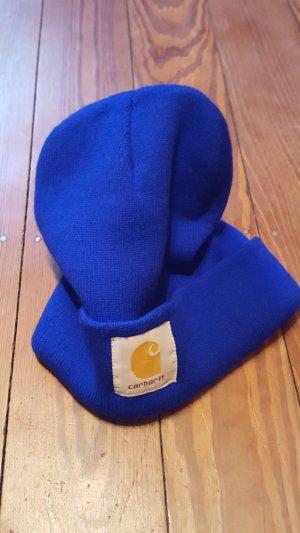 Carhartt Cappello a maglia blu Lana