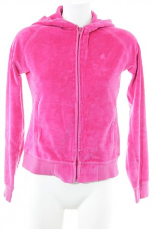 Carhartt Sweat Jacket magenta casual look