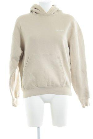 Carhartt Sweat Shirt cream casual look