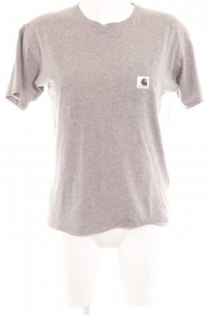 Carhartt T-Shirt grau Casual-Look