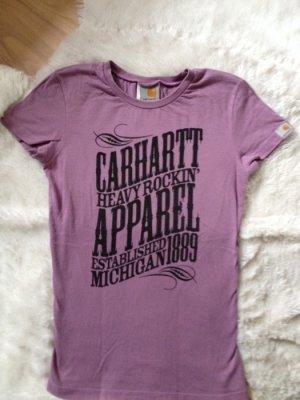 Carhartt t-shirt lila größe xs/34 wie neu skate volcolm oberteil