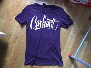 Carhartt T-shirt shirt Oberteil größe xs 34 wie neu lila