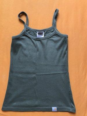 Carhartt top oliv grün khaki oberteil größe s 36