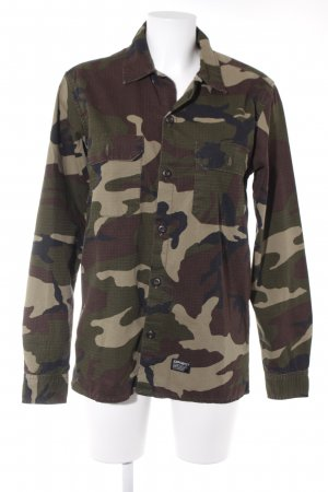 Carhartt Übergangsjacke Camouflagemuster Skater-Look