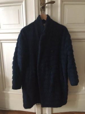 Carin Wester Fur Coat blue Wintermantel