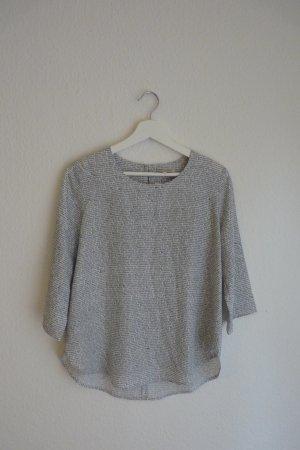Carin Wester Shirt Oberteil M *NEU* schwarz weiß Print Designer Fashion Blogger