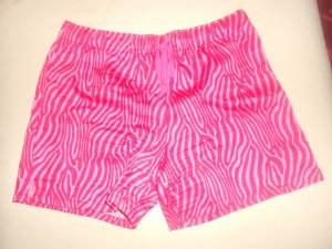 Sport Shorts pink-red cotton