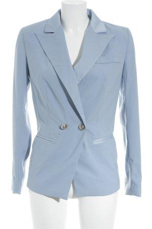 Carla by Rozarancio Blazer de esmoquin azul celeste elegante