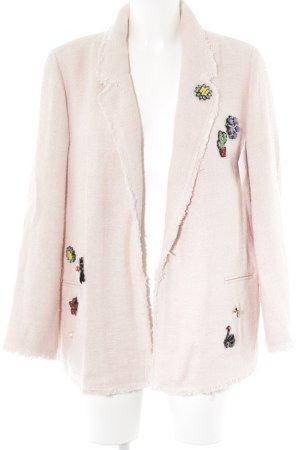 Carla by Rozarancio Tweed blazer rosé extravagante stijl