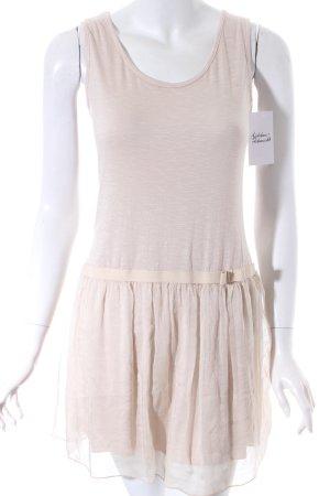 Carla Venturi Minikleid beige Casual-Look
