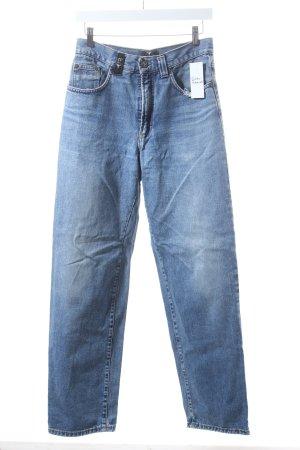 Carlo Colucci Jeans blau Retro-Look