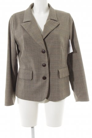 Carlo Colucci Long-Blazer Glencheckmuster Business-Look