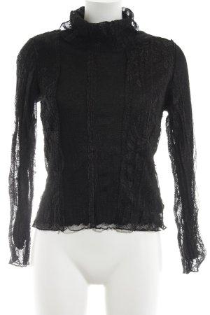 Carlo Colucci Sweatshirt dunkelbraun-braunrot Street-Fashion-Look