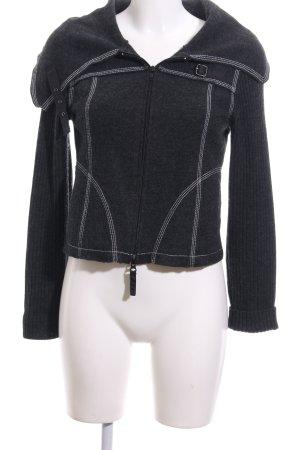 Carlo Colucci Wolljacke schwarz schlichter Stil