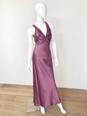 Carlo Pignatelli-edles Abendkleid/Robe mit Stola-GR: 36-violett-1x getragen