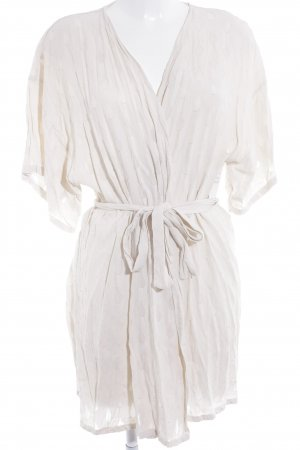 Carls Bernsten Cardigan creme Wickel-Look