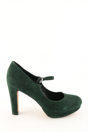 Carma Shoes Strapped pumps green casual look