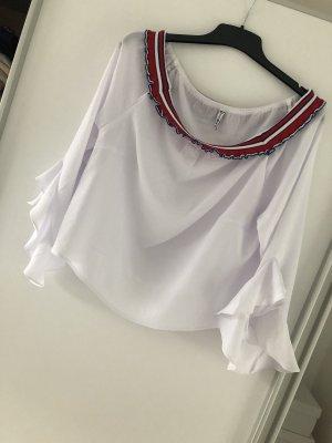 Fishbone Carmen blouse veelkleurig