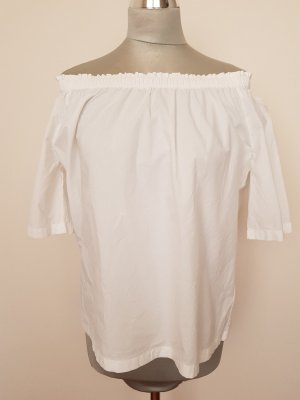 Marc O'Polo Carmen Blouse white cotton