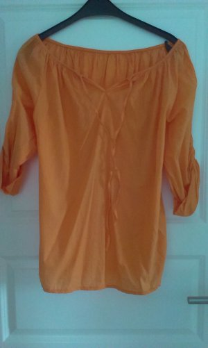 Carmen Bluse in orange