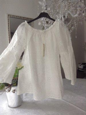 Carmen-Bluse / weiß / Gr. One Size / NEU mit Etikett