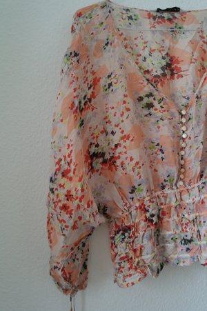 Carmen-Blusen aus Seide - Zara