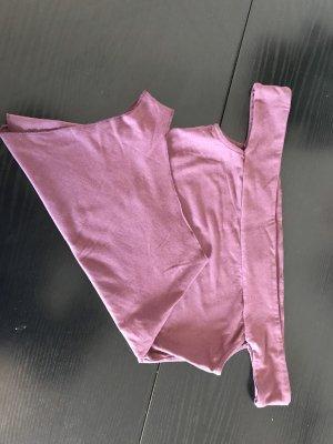 Shirtbody grijs-lila