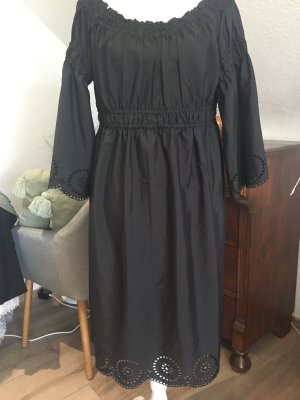 Robe épaules nues noir