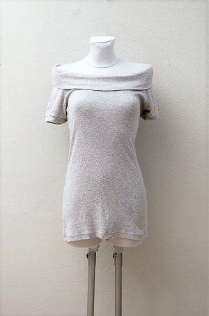 Carmen Longshirt - Grau-Meliert