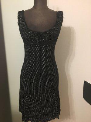 Carmen Look Minikleid Kleid gepunktet Gr 36 38 S