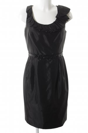 Carmen Marc Valvo Abendkleid schwarz Party-Look