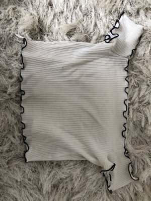 Zara Carmen Shirt white-dark blue