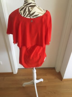 Twin-Set Simona Barbieri Carmen blouse rood