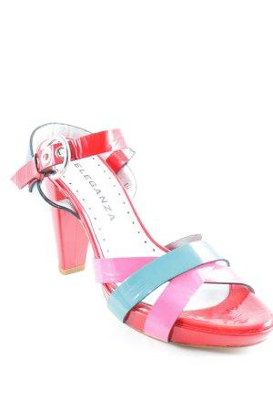 Carmen Poveda Slingback-Pumps mehrfarbig extravaganter Stil