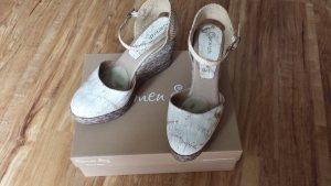 Carmen Saiz Keilabsatz Sandalen