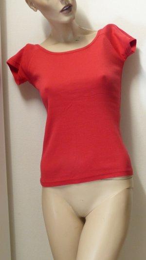 Camisa tipo Carmen rojo Algodón