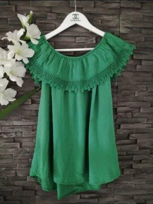 new collection Carmen shirt groen