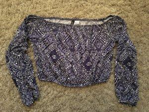 Carmen Shirt mit schönem Muster