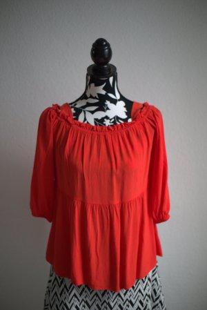 Promod Blusa alla Carmen rosso