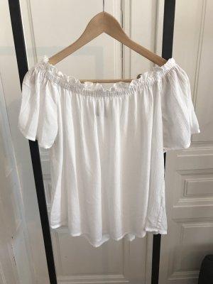 Vero Moda Camicetta alla carmen bianco