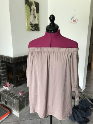Carmen blouse stoffig roze